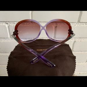 Tom Ford Accessories - Tom Ford Whitney Oversized Soft Round Sunglasses